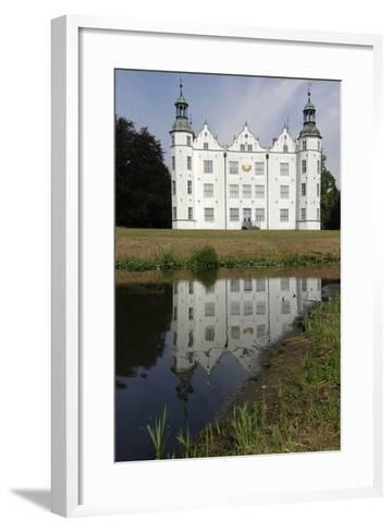 Ahrensburg Castle, Built in Renaissance Style in 16th Century, Schleswig-Holstein, Germany--Framed Art Print