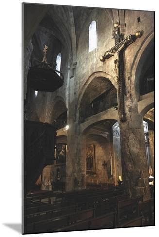 Interiors of a Cathedral, Notre-Dame Du Puy, Grasse, Provence-Alpes-Cote D'Azur, France--Mounted Photographic Print