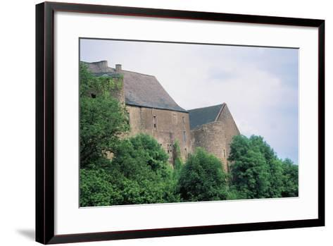 Chateau Di Roussy-Comte and Roussy-Seigneurie, Roussy-Le-Village, Lorraine, France--Framed Art Print