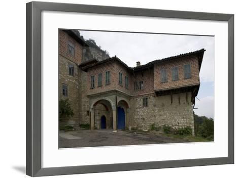 The Transfiguration Monastery (Preobrazenski Manastir), Ca 1850, Near Veliko Tarnovo, Bulgaria--Framed Art Print