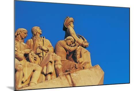 Monument to Discoveries, 1960, on Bank of Tagus River, Belem District, Portugal. Detail--Mounted Photographic Print