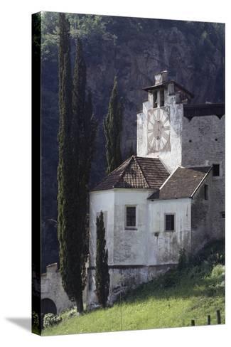 Braunsberg Castle, 13th Century, Lana, Valle Dell'Adige, Trentino-Alto Adige, Italy--Stretched Canvas Print