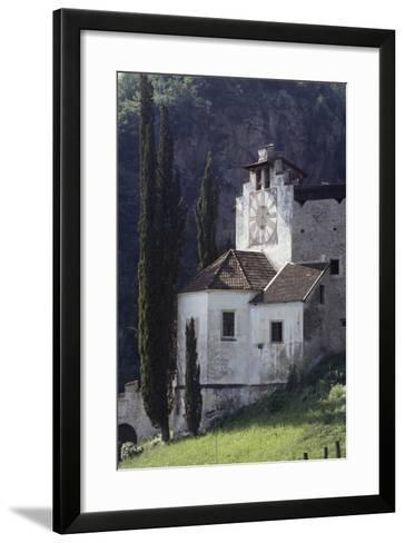 Braunsberg Castle, 13th Century, Lana, Valle Dell'Adige, Trentino-Alto Adige, Italy--Framed Art Print