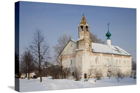 Church Within the Convent of the Intercession, Founded in 1364, Suzdal, Golden Ring, Russia--Stretched Canvas Print