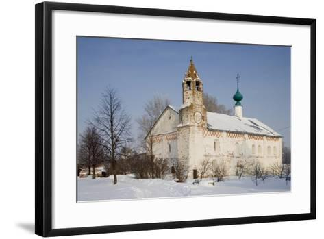 Church Within the Convent of the Intercession, Founded in 1364, Suzdal, Golden Ring, Russia--Framed Art Print