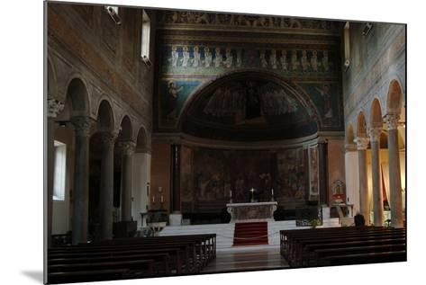 Italy. Rome. Basilica of Santa Maria in Domnica. Interior with the 9th Century Apse Mosaics--Mounted Photographic Print