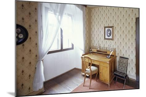 Writing Desk of Bed?ich Smetana, Jabkenice, Central Bohemia, Czech Republic--Mounted Photographic Print