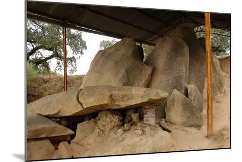 Anta Grande Do Zambujeiro. Megalithic Monument. 4000-35000 BC. Alentejo Region--Mounted Photographic Print