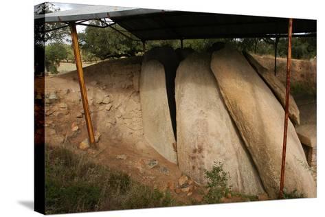 Anta Grande Do Zambujeiro. Megalithic Monument. 4000-35000 BC. Alentejo Region--Stretched Canvas Print