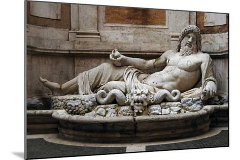 Roman Art. Marphurius or Marforio. Marble. Capitoline Museums. Rome. Italy--Mounted Photographic Print
