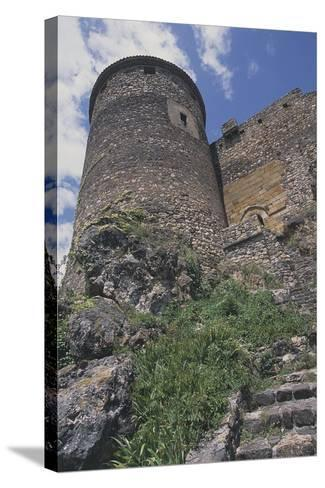 Perimeter Tower of Chateau of Busseol, Founded in 12th Century, Auvergne, France--Stretched Canvas Print