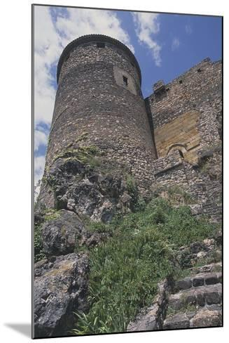Perimeter Tower of Chateau of Busseol, Founded in 12th Century, Auvergne, France--Mounted Photographic Print