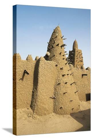 Djinguereber Mosque, 1327, Built by Musa I Emperor of Mali, Timbuktu, Mali--Stretched Canvas Print