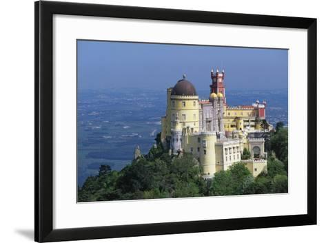 Pena National Palace, 19th Century, Mixture of Eclectic Styles, Sintra, Portugal--Framed Art Print