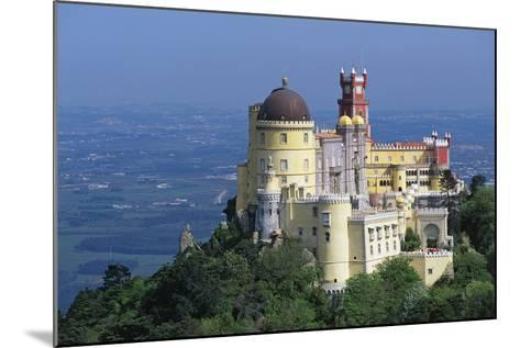 Pena National Palace, 19th Century, Mixture of Eclectic Styles, Sintra, Portugal--Mounted Photographic Print