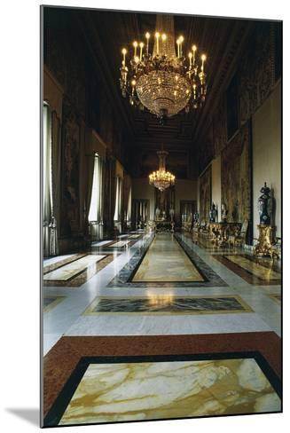 Hall of Augustus (Formerly Throne Room), Quirinal Palace, Rome, Lazio, Italy--Mounted Photographic Print