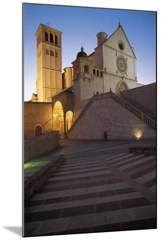 Low Angle View of a Church, Basilica of San Francisco, Assisi, Umbria, Italy--Mounted Photographic Print