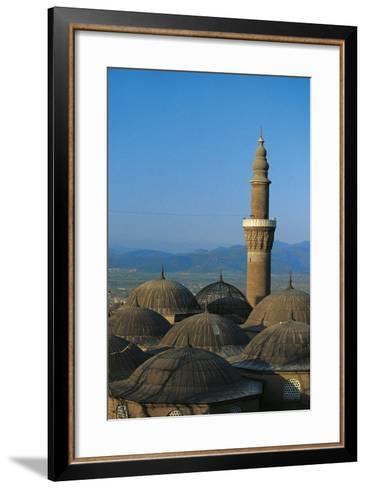 Minaret of Bursa Grand Mosque (Ulu Cami), 15th Century, Bursa, Marmara, Turkey--Framed Art Print