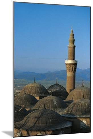 Minaret of Bursa Grand Mosque (Ulu Cami), 15th Century, Bursa, Marmara, Turkey--Mounted Photographic Print