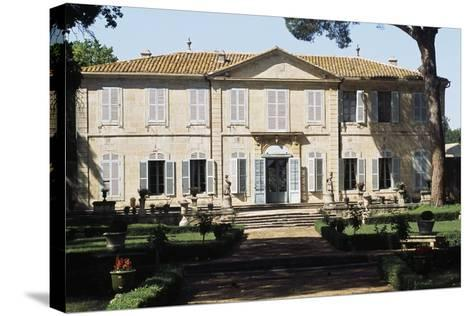 Chateau of La Mogere, 18th Century, Montpellier, Languedoc-Roussillon, France--Stretched Canvas Print