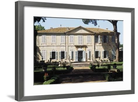 Chateau of La Mogere, 18th Century, Montpellier, Languedoc-Roussillon, France--Framed Art Print