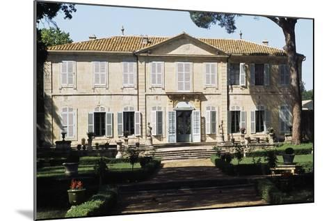 Chateau of La Mogere, 18th Century, Montpellier, Languedoc-Roussillon, France--Mounted Photographic Print