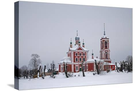 The Church of the Forty Martyrs (1755), Pereslavl-Zalessky, Golden Ring, Russia--Stretched Canvas Print