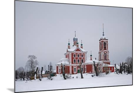 The Church of the Forty Martyrs (1755), Pereslavl-Zalessky, Golden Ring, Russia--Mounted Photographic Print
