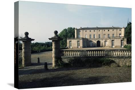 Chateau of Lavagnac, Montagnac, 17th-18th Century, Languedoc-Roussillon, France--Stretched Canvas Print