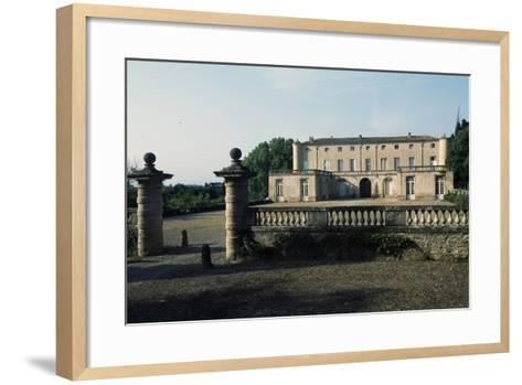 Chateau of Lavagnac, Montagnac, 17th-18th Century, Languedoc-Roussillon, France--Framed Art Print