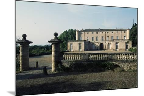 Chateau of Lavagnac, Montagnac, 17th-18th Century, Languedoc-Roussillon, France--Mounted Photographic Print