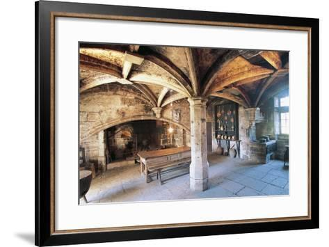 Room with Cross Vault, Chateau Ofs Bories, 16th-17th Century, Aquitaine, France--Framed Art Print