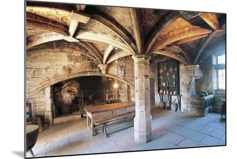 Room with Cross Vault, Chateau Ofs Bories, 16th-17th Century, Aquitaine, France--Mounted Photographic Print