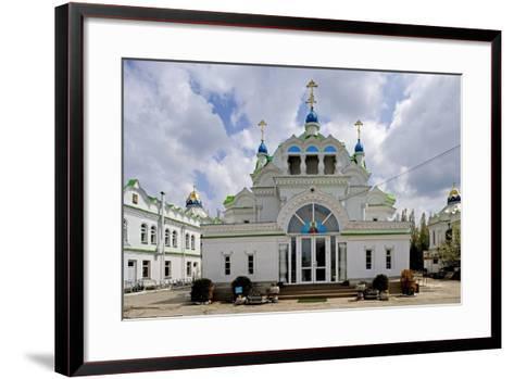 The Facade of the Orthodox Sv Ekaterininskaya Church, Feodosia, Crimea, Ukraine--Framed Art Print