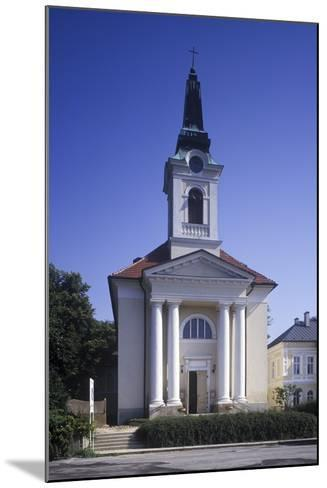 Church of the Exaltation of the Holy Cross, Franti?kovy L?zn?, Czech Republic--Mounted Photographic Print