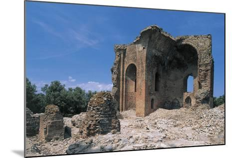 Low Angle View of a Ruined Building, Roccelletta Di Borgia, Calabria, Italy--Mounted Photographic Print