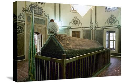 Tomb of Sultan Bayezid II (1447-1512). Ottoman Empire. Istanbul. Turkey--Stretched Canvas Print