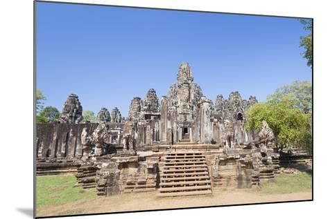 The South Side of the Bayon Temple, Angkor Thom, Angkor, Siem Reap, Cambodia--Mounted Photographic Print