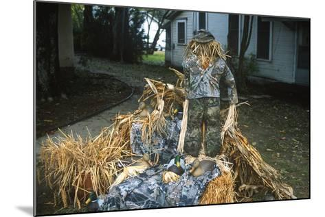 Duck Decoys, Scarecrow, Wings over the Prairie Festival, Stuttgart, Arkansas--Mounted Photographic Print