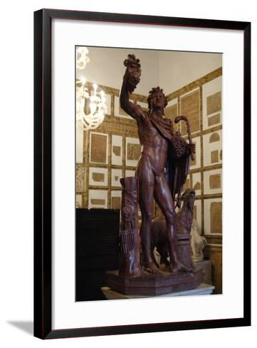 Faun in Red Marble. 2nd Century A.D. Copy. Capitoline Museums. Rome. Italy--Framed Art Print