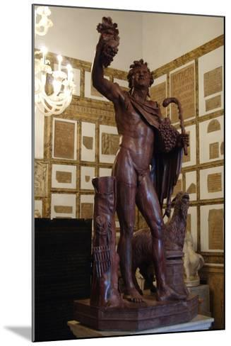 Faun in Red Marble. 2nd Century A.D. Copy. Capitoline Museums. Rome. Italy--Mounted Photographic Print