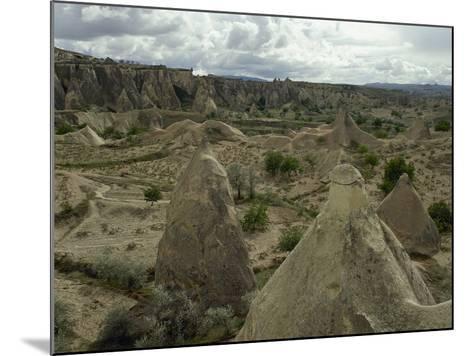Turkey. Cappadocia. Pasabaglari. Monk's Valley. Fairy Chimney. Detail. Central Anatolia--Mounted Photographic Print