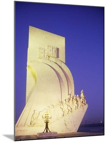 Monument to Discoveries, 1960, on Bank of Tagus River, Belem District, Portugal, Detail--Mounted Photographic Print
