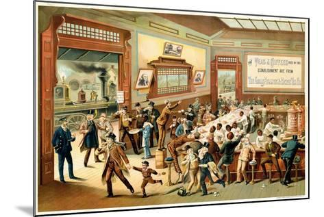 Poster Advertising 'Great Atlantic and Pacific Tea Co.', 1886--Mounted Giclee Print