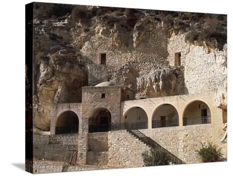 St Neophytos Monastery, 12th Century, Paphos (Unesco World Heritage List, 1980), Cyprus--Stretched Canvas Print