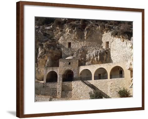 St Neophytos Monastery, 12th Century, Paphos (Unesco World Heritage List, 1980), Cyprus--Framed Art Print
