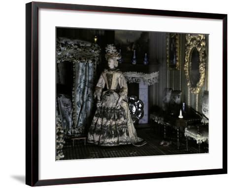Dollhouse (1670-1690) from Petronella De La Court (1624-1707). Anonymous. Netherlands--Framed Art Print