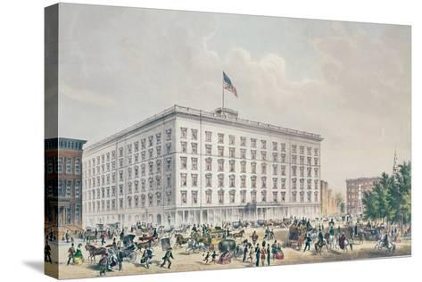 Fifth Avenue Hotel, New York--Stretched Canvas Print