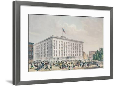 Fifth Avenue Hotel, New York--Framed Art Print