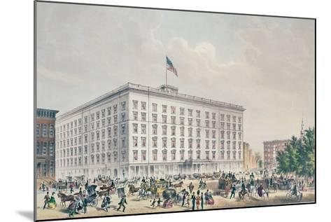 Fifth Avenue Hotel, New York--Mounted Giclee Print